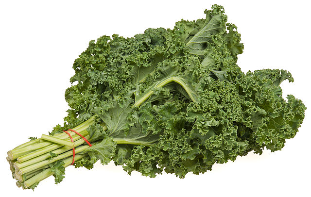 Should you eat kale stems